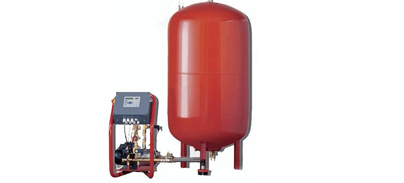 منبع انبساط دیافراگمی-Diaphragm Expansion Tank-کلید اتوماتیک کنترل فشار- پمپ آب