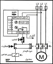 اینورتر /کنترل دور موتور سه فاز نقطه کنترل