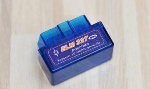 ELM327 مجهز به بلوتوث-نقطه کنترل